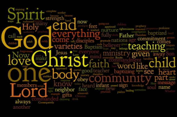 Theology Wordle 2013